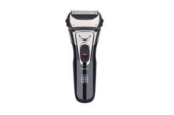 Select Mall Electric Razor Rechargeable Waterproof Double Net Razor Bald Head Mane Trimmer Suitable for Men
