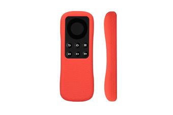 Select Mall Remote Control Cover Media Player Box Anti Slip Silicone Protective Case Cover for Amazon Fire TV Stick-Red