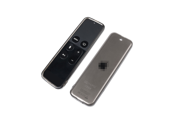 Select Mall Remote Control Transparent Cover TV5 TV TPU Remote Control Protective Cover for Apple TV4 TV5-Black