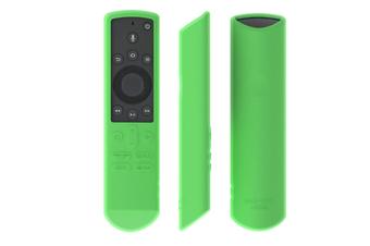 Select Mall Silicone Case for Remote Control Waterproof and Dropproof Remote Control Case for Toshiba Fire TV-Green