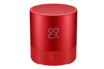 Select Mall Portable Mini Bluetooth 4.2 Speaker Small Stereo Wireless Lanyard Music Subwoofer Player-Orange