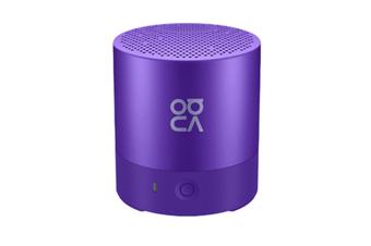 Select Mall Portable Mini Bluetooth 4.2 Speaker Small Stereo Wireless Lanyard Music Subwoofer Player-Purple