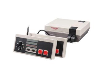 Select Mall Mini Classic FC Red and White Machine Retro Nostalgic Double Home TV Game Console-1