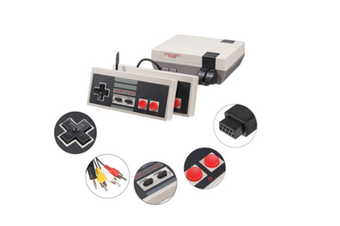 Select Mall Mini Classic FC Red and White Machine Retro Nostalgic Double Home TV Game Console-3