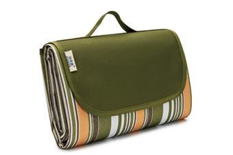 Select Mall Outdoor Supplies Portable Picnic Mat Moisture-proof Mat Tent Mat Grass Mat Picnic Picnic Cloth-7 145x200cm