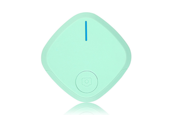 Select Mall Mini Bluetooth 4.0 Key Finder Smart Alarm Anti Lost Tracker Selfie Controller Bluetooth Anti-lost Film Anti-theft Alarm-Green