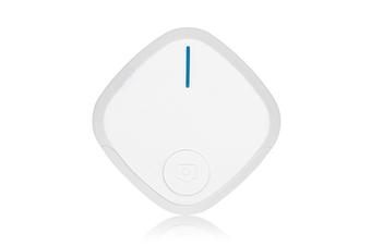 Select Mall Mini Bluetooth 4.0 Key Finder Smart Alarm Anti Lost Tracker Selfie Controller Bluetooth Anti-lost Film Anti-theft Alarm-White