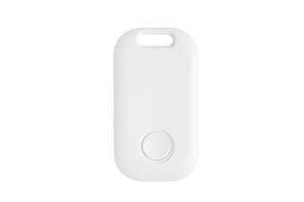 Select Mall Smart Bluetooth Two-way Finder Ultra-thin Anti-lost Device Intelligent Anti-Lost Device GPS Tracker GPS Trackers-White