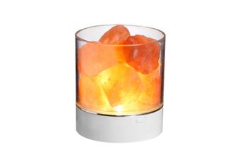 Select Mall Bedside Tabletop Salt Lamp Crystal Salt Stone Natural Negative Ion Salt Block Night Light Creative Bedroom Table Lamp