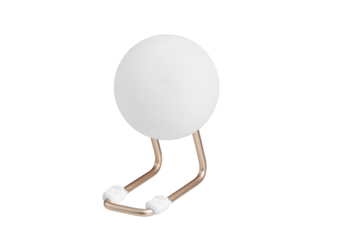 Select Mall Sphere Silicone Pat Table Lamp Night Light Bedroom Bedside LED Atmosphere Lamp with Mobile Phone Bracket