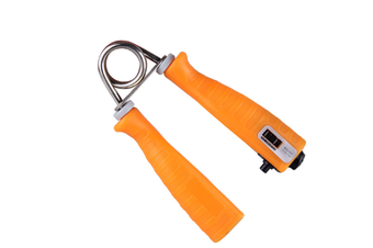 Select Mall 2PCS 20 Kg Elasticity Adjustable Countable Gripper Finger Rehabilitation Training Device Arm Force Wrist Force Device-Orange