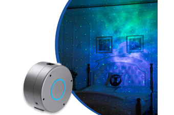 Select Mall Warm Bedside Lamp Suitable for Bedroom Game Room Smart Night Light Laser Projector with LED Nebula Cloud