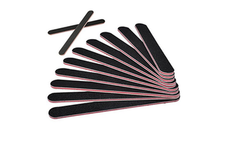 12 Pack Nail Files Emery Board(100/180 Grit) Nail Buffering Files