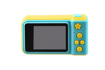 Select Mall Rechargeable Mini Kids Children Camera with 2 Inch Screen - Blue