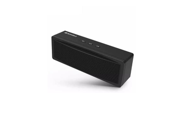 Select Mall Wireless bluetooth Speaker 1200mAh Subwoofer Portable Speaker Dual Unit TF Card U Disk-BLACK