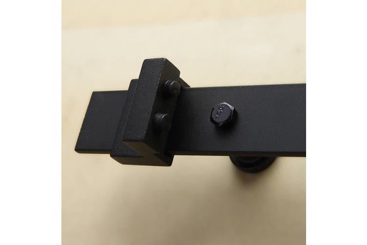 2M Antique Classic Style Single Sliding Barn Door Hardware Track Roller Kit