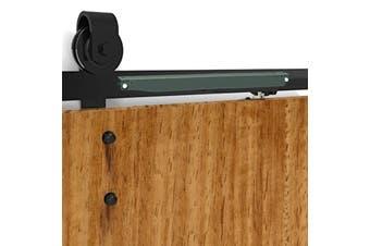 Antique Style Sliding Barn Double Door Hardware Damper Quiet Closing Tool Kit