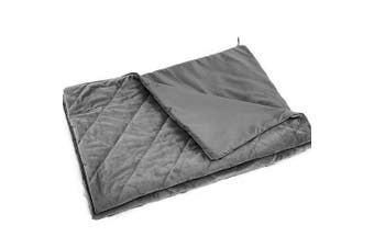 DreamZ Weighted Blanket Cover Quilt Duvet Doona Cover Kid Single Double S Grey