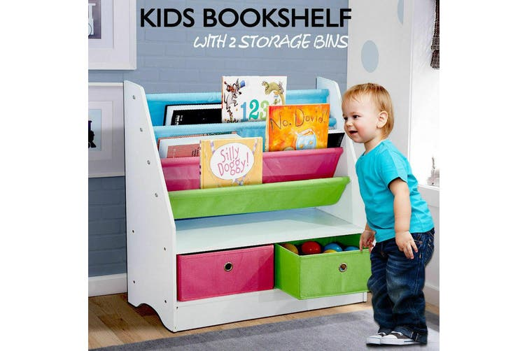 Kids Children Bookcase Bookshelf Toy