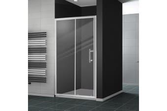 Levede Bath Shower Enclosure Screen Seal Strip Glass Shower Door 1300x1900mm