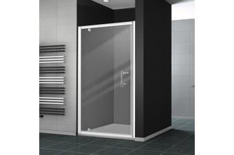 Levede Bath Shower Enclosure Screen Seal Strip Glass Shower Door 900x1900mm