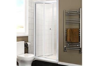 Levede Shower Screen Screens Door Seal Enclosure Glass Panel Foldable 900x1900mm