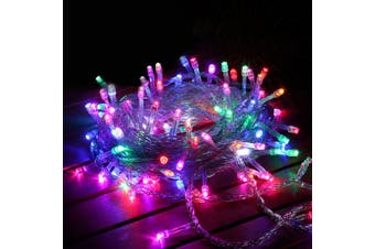800 LED Curtain Fairy String Lights Wedding Outdoor Xmas Party Lights Multicolor