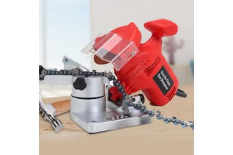 320W Chainsaw Sharpener Stones Chainsaw Tool Electric Grinding Disc Sanding Kit