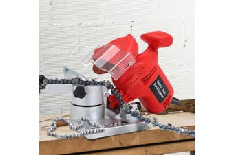 320W Chainsaw Sharpener Stones Chainsaw Tools Electric Grinding Disc Sanding Kit