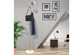 Clothes Stand Garment Hat Coat Rack Metal Rail Portable Hanger Organizer Gold