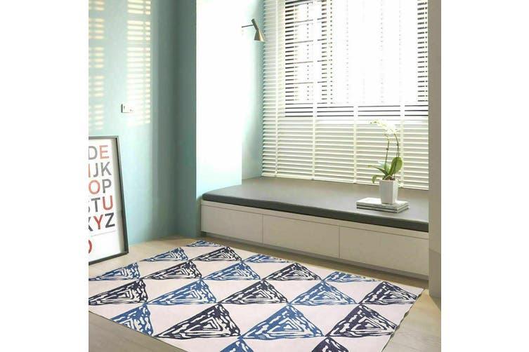 Modern Style Pyramid Theme Non Slip Floor Area Rug Carpet 300x200cm