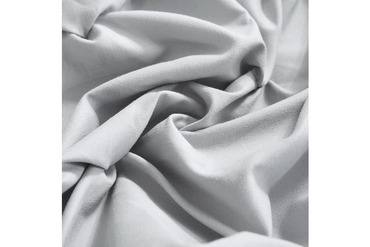 DreamZ Diamond Pintuck Duvet Cover Pillow Case Set in Full Size in Plum