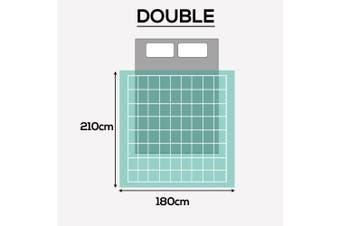 DreamZ Lightweight Quilt Duvet Covers Blanket Adults Kids Queen Size Green