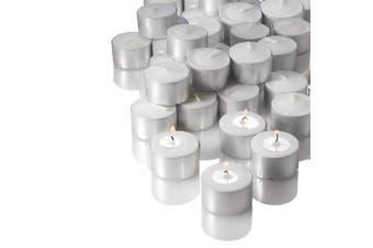 Tea Light Candles 9 Hour Bulk Tealights Unscented Candle Lights Wedding Party AU