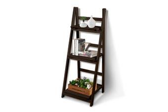 Levede 3 Tier Ladder Shelf Stand Storage Book Shelves Shelving Display Rack