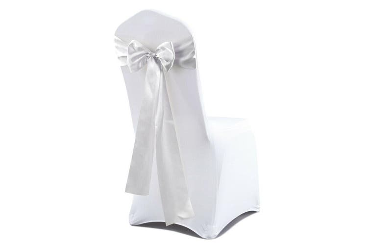 20x Satin Chair Sashes Cloth Cover Wedding Party Event Decoration Table Runner