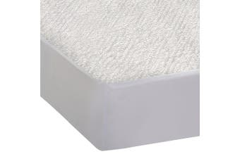 DreamZ Fitted Waterproof Mattress Protector with Bamboo Fibre Cover Queen Size Bamboo Fibre Protector