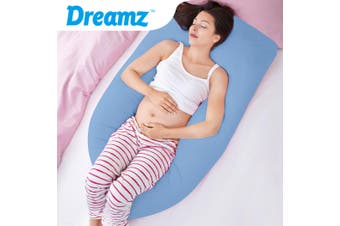 DreamZ Pregnancy Pillow Maternity U-Shaped Breastfeeding Sleeping Body Support