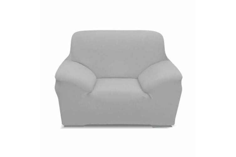 Easy Fit Stretch Couch Sofa Slipcovers Protectors Covers 2 Seater Grey