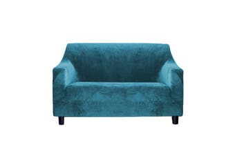 DreamZ Couch Stretch Sofa Lounge Cover Protector Chair Slipcover 2 Seater Green