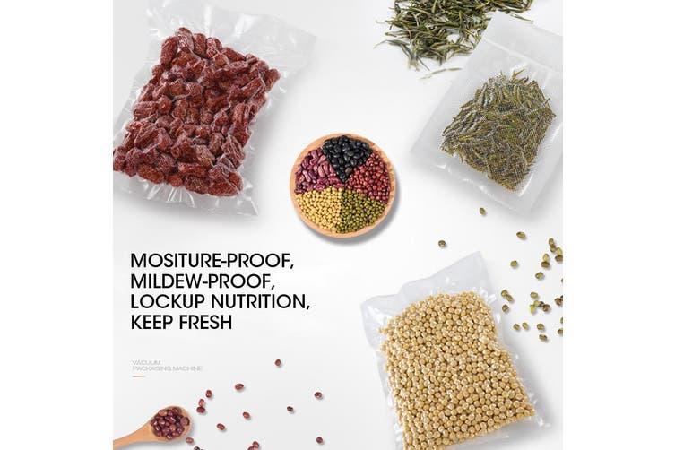 100x Commercial Grade Vacuum Sealer Food Sealing Storage Bags Saver 25x35cm