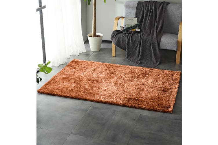 Floor Rugs Shaggy Rug Ultra Soft Shag Confetti Carpet Anti-Slip Living Room Mat