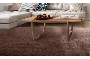 Floor Rugs Shaggy Rug Shag Area Confetti Carpet Soft Mat Extra Large Living Room Sprinkle Coffee