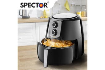 Spector Air Fryer LCD Healthy Cooker Deep Fryers Oven Oil Free Low Fat Kitchen