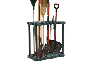 Garden Farm Shed Garage Tools Storage Rack Long Short Handles Organizer Holder