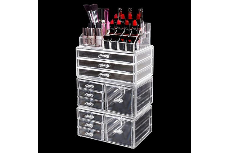 11 Drawers Clear Acrylic Bo Cosmetic