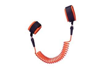 Strap Wrist Leash Safety Walking Antilost Harness Belt Hand Toddler Kids Baby 2M Orange