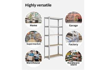 1.8M Warehouse Shelving Racking Steel Pallet Garage Shelves Metal Storage Rack