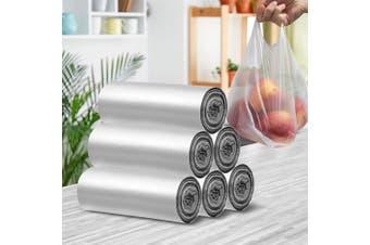 300pcs Plastic Singlet Bags Carry Bag Grocery Shopping Checkout 30x52x18cm Large