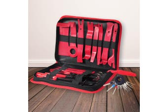 31PCS Car Trim Removal Tools Set Body Clips Panle Pry Door Dash Interior  Kit